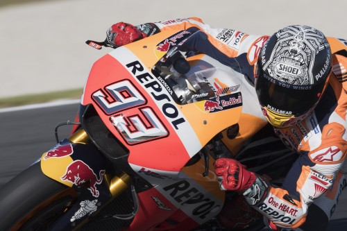 Marc Marquez:: non brillanti suoi test a Phillip Island (Getty)