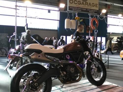 Una bellissima special su base Ducati Scrambler