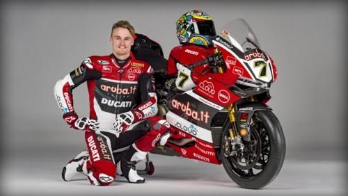 Chaz Davies compagno di squadra di Marcpo Melandri in Ducati Superbike