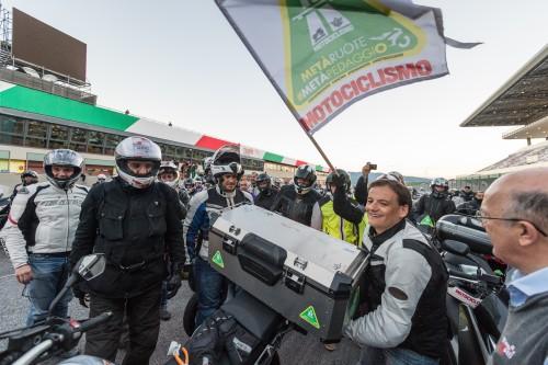 Il direttore di Motociclismo, Federico Aliverti al Mugello il 7 ottobre scorso