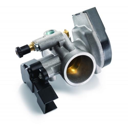Il corpo farfallato del nuovo motore KTM 250_300 EXC TPI