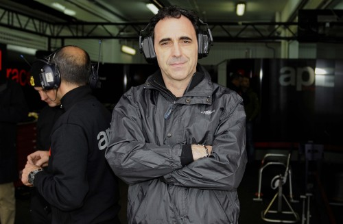 Romano Albesiano, responsabile di Aprilia MotoGp FOTO: A.Giberti/Ciamillo - Moto GP Test Valencia 2014-2015 - fotografo: A.Giberti/Ciamillo