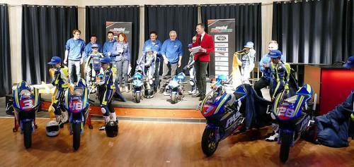 La presentazione del Team Pasini per il Campionato italiano velocità 2017