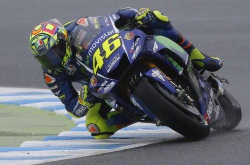 Valentino Rossi a Motegi: la sua una gara che fa riflettere (AP)