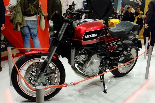 La nuova Moto Morini Milano tra le novità più ammirate di EICMA 2017