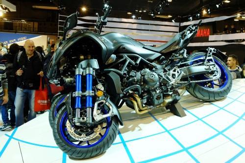 La Yamaha Niken la proposta che ha fatto più discutere gli appassionati in visita a EICMA