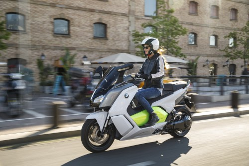 Lo scooter elettrico BMW C-Evolution