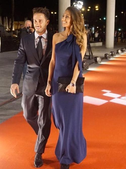 Alessandra Rossi e Andrea Dovizioso