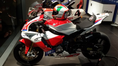 La Yamaha a disposizione di Conti per il CIV Superbike