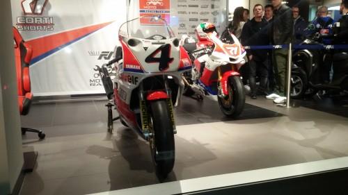 La presentazione del Team Motozoo presso la concessionaria Yamaha Valli di Lissone