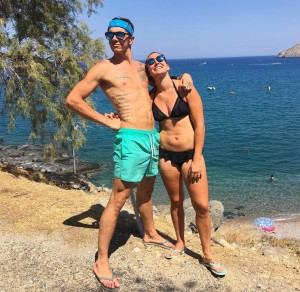Kiara Fontanesi in vacanza con Scott Redding