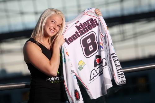 Kara fontanesi prepara la scalata al titolo mondiale motocross femminile WMX (Italyfotopress)