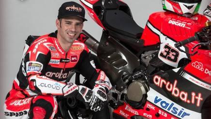 Marco Melandri: la sua Ducati sembra aver risolto i problemi di stabilità in rettilineo