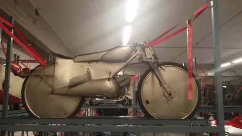 La Guzzi da record della collezione di moto storiche del Museo