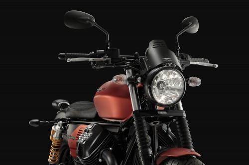 La Moto Guzzi V9 bobber sport che srà presentata in anteprima