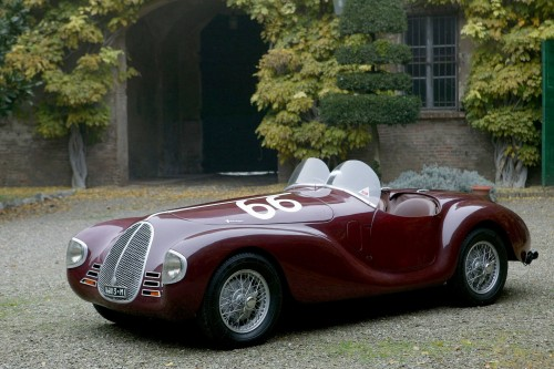 La Avio Costruzioni 815, prima vettura realizzata da Ferrari a Modena