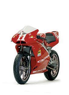 La Cagiva Mito 125 cc