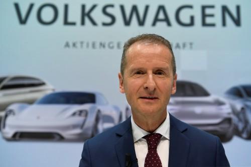 Herbert Diess, nuovo Ceo di Volkswagen (REUTERS)