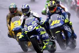 Da sinistra: Biaggi, Gibernau, Rossi