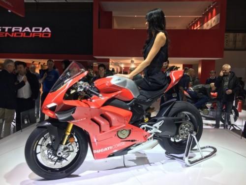 La Ducati Panigale V4R una delle regine di EICMA 2018