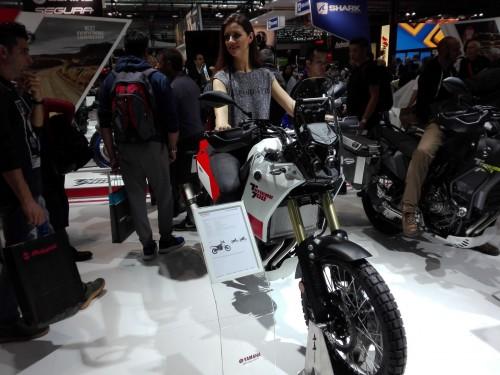 La Yamaha T7 proposta all'EICMA dalla casa giapponese