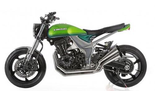 La Kawasaki Z 100 Anniversary, uno dei capolavori di Lussiana