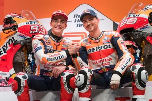 Marq Marquez e Jorge Loirenzo il superteam Honda per il 2019