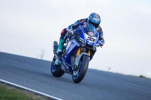 Marco Melandri: difficili test a Portimao al debutto sulla Yamaha SBK