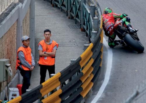 Macau Grand Prix: Martin Jesspp e le temibili Armco barriers