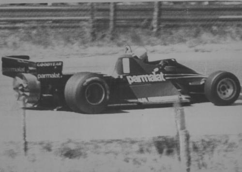"""La Brabham BT46B del 1978: la Formula 1 con il """"ventilatore"""" (Foto Ansa)"""