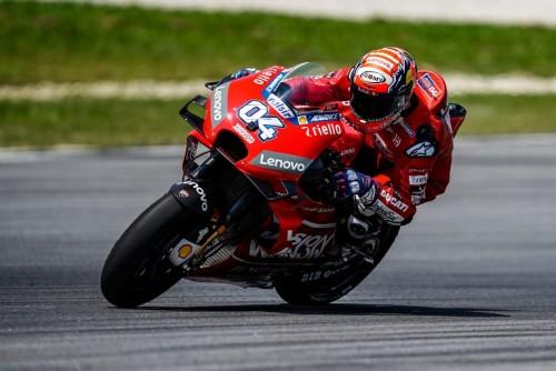 Andrea Dovizioso. Con la nuova Ducati è candidato al titolo 2019