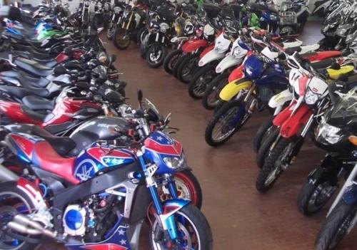 negozio moto