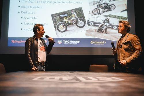 Da sinistra: Matteo Andreani e Filippo Bassoli