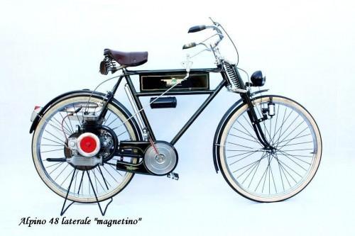 L'Alpino 48, micromotore per bicicletta fabbricato a Stradella
