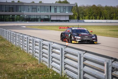 Battesimo sulla pista Audi di Neuburg per Andrea Dovizioso