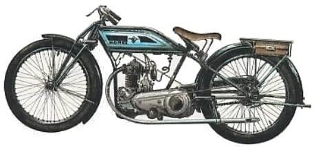 La Horex 250 del 1923, il primo modello della casa bavarese