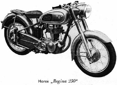 La Horex Regina 250 del 1950