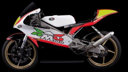 La RMU M GP 8 da 80 cc per preparare i futuri campioni di motociclismo