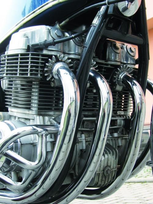 Il mitico 4 cilindri 750 della Honda Four, un capolavoro di meccanica