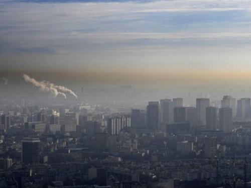Inquinamento in una grande città: Milano