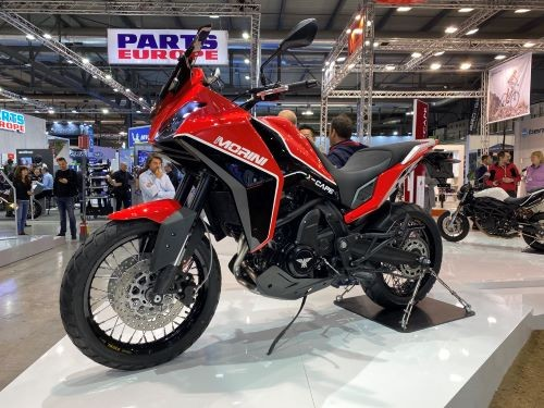 Moto Morini X Cape 650 una delle novità più interessanti di EICMA 2019