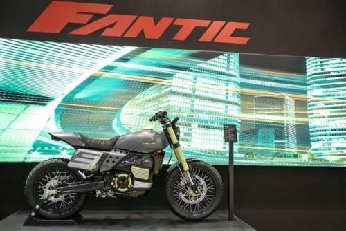 Il Fantic Motor Caballero versione elettrica a Eicma 2018