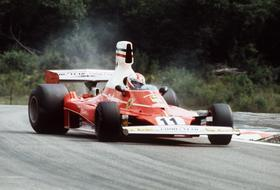 Regazzoni sulla Ferrari 312T