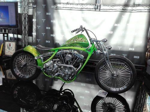 Una affascinante proposta della piemontese Boman Kustom Bike