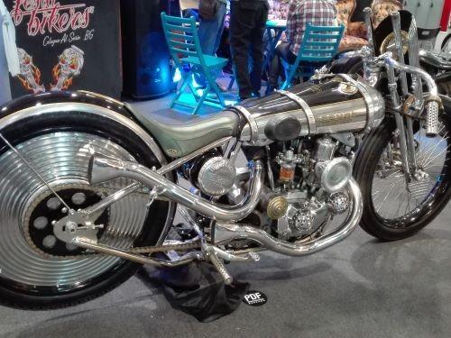 La regale Gatsby di PDF Motociclette: un tributo all'Art Deco