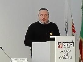 Mirco Laurenti Legambiente durantela presentazione del Focus 2R