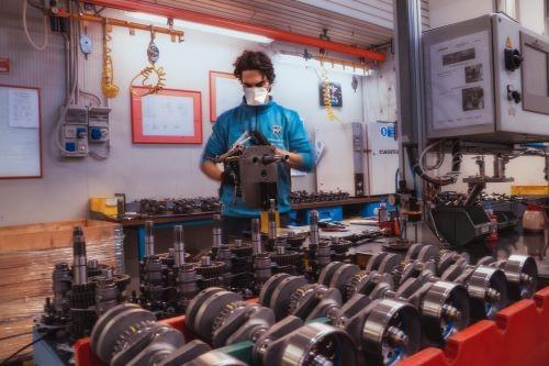 Lavoro in MV Agusta dopo l'adozione delle misure di revenzione