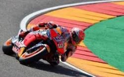 Marquez in azione a Aragon 2019