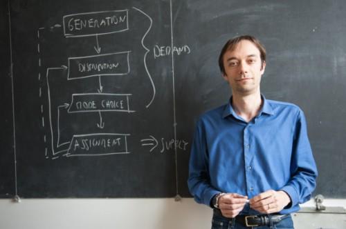 Il professor Marco Diana, docente al Politecnico di Torino