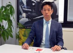 Tomochi Taniguchi, vicepresidente di Suzuki Italia
